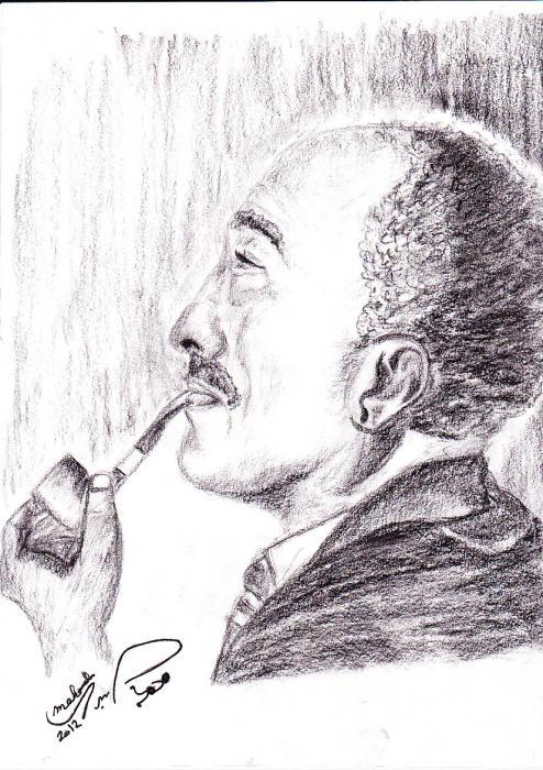 Anwar El Sadat by mohamedsabry